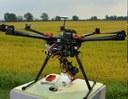 Sorvolo con drone durante una campagna di misura S4A e video del sorvolo